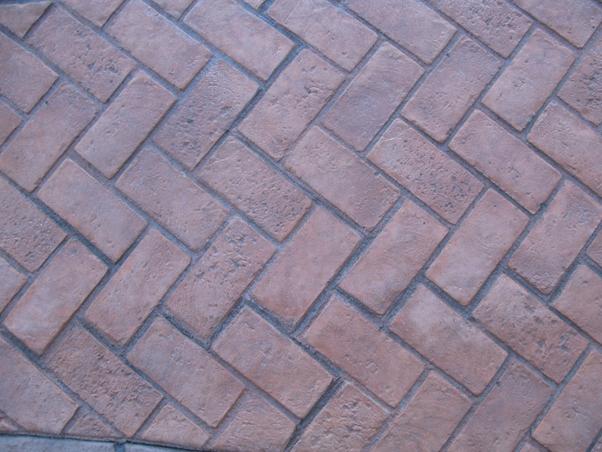 stamped concrete driveways